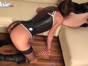Sexy Milfs need some pleasure up their wet horny snatch. They eat, lick and...