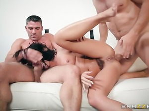 Brunette Adriana Chechik is an anal addict who is ready to fuck day and night...