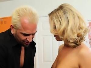 Small Tits Blonde Rides Teachers Cock Hard Megan Sweetz