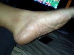 BBW Wife Barefoot