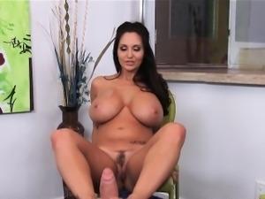 Huge Tits Rides Cock Ava Addams