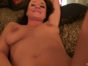 Insatiable hot thingy Denice k gets her pussy toyed