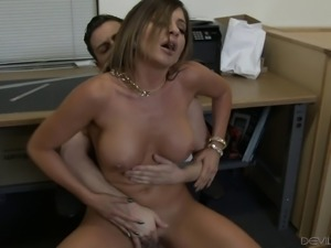 Nikki's body is thick and the dude wants to take her from the behind