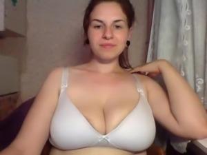 Webcam big boobs and areolas