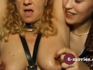 6-movies.com - Fetisch GangBang in Lack und Leder -