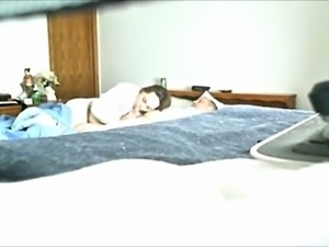 Hidden cam catches slutty aunt sucking big dick balls deep
