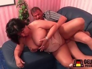 Old people having sex