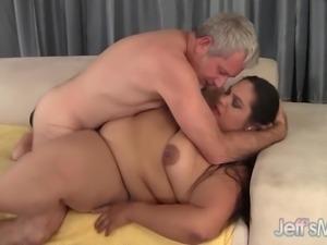 Fatty Latina Lorelai Givemore enjoys a fat dick.