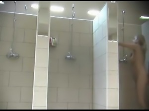 Hidden shower cam multiple mature women 2