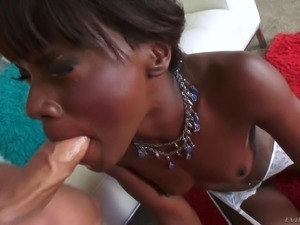 Luscious ebony bimbo Ana Foxxx is a very nasty babe