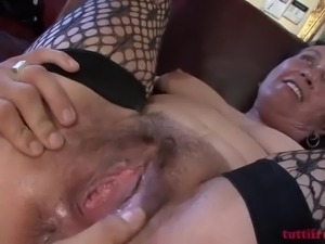hairy mature on my anal casting