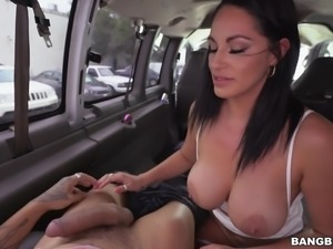 Cristal was picked up on the street and then railed hard in the back of the...