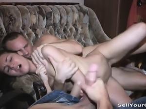 Double having sex with profit Tabetha from 1fuckdatecom