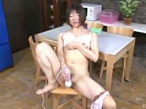 Kinky toys are the only things that can make her cum