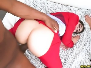 Valentina Nappi with bubbly booty is full of passion to take hard dick in her...