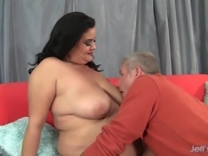 Hot chubby mom fucked hard