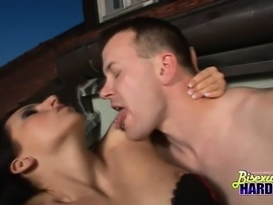 Two Bisex Hunks And Eva Tores