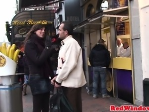 Mature Dutch hooker pussyfucked by tourist