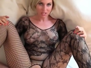 Her wet pussy is only there to prepare your dick for her asshole