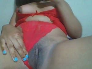 Hmong mom pussy & tits