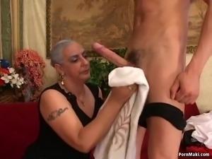Granny Loves Big Dick