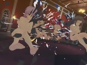 Senran Kagura Sexy Team Finisher Compilation Hidden Room