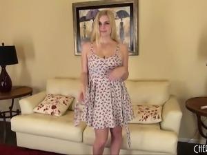 Sexy Blonde Danielle Delaunay Solo