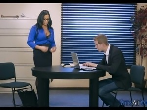 Cougar Cheats on Her Husband at Work