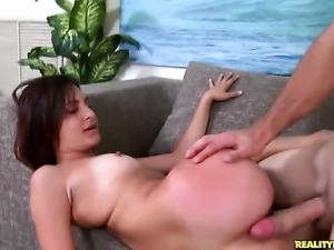 Redhead Nikki Chase is totally addicted to cum