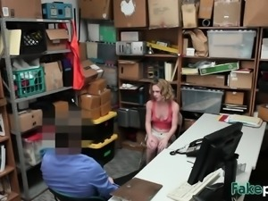 Thieves Bonnie And Maya Punished By Cock In Office