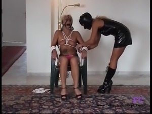 Fetisch-Concept.com: - Bondage date for 2 girls -
