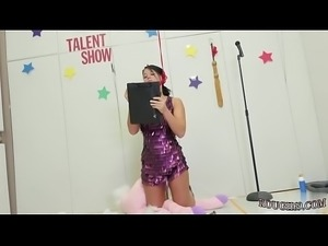 Financial domination and extreme small petite teen Talent Ho