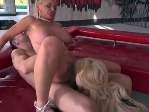 Wicked and hot blonde sultry bimbo wants to fuck Rocco