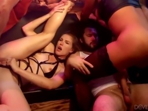 When these sexy couples get tired of the mundane monotony of their sex lives,...