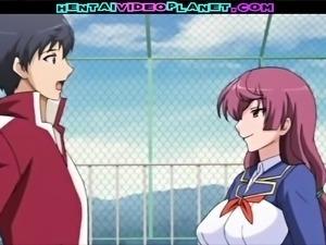 Busty Hentai Schoolgirl