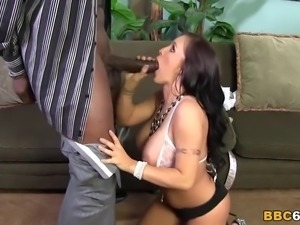 Big Titted Jenna Presley Squirts On Black Cock