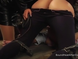 Lesbian Mistress And Handmaidens: Touch Of The Whip