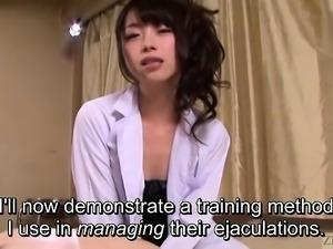 Subtitled Japanese AV legend Tsubaki Katou POV pet play