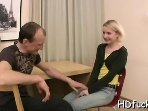 Sexually excited playgirl gets teased and gets ready for sex