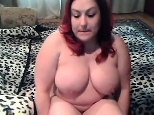 Bodacious bbw redhead milf performs on precisely the mattre