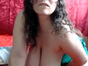 Milf With Huge Natural Tits Swinging
