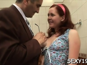 Mature teachers are getting blowjob from sweet sweetheart