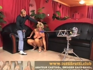 Euro mature Christina sexmachine anal