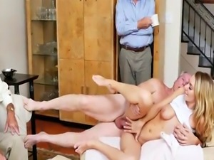 Blonde pussy play close up and hairy solo Molly Earns Her Keep