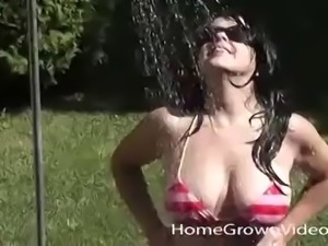 Horny girl wants to have fun with a fellow's fat cock