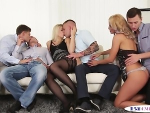 Bisexual jock cockriding in bi orgy