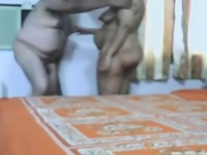 Adult Indian Couple Making Love