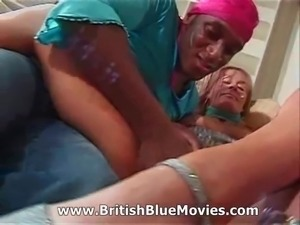 British Interracial Anal
