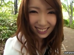 Yui Hatano can't say no to a blowjob and she is always eager to please