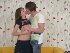 Olesya is a sassy girl and she is getting filled up with a nice cock
